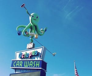 americana, candycolors, and octopus image