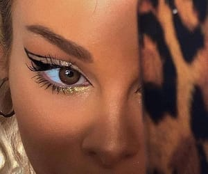 beauty, eyeliner, and eyes image