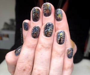 art, glam, and nails image