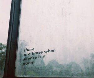quotes, silence, and poem image