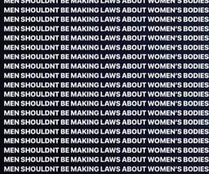 feminism, feminist, and pro choice image