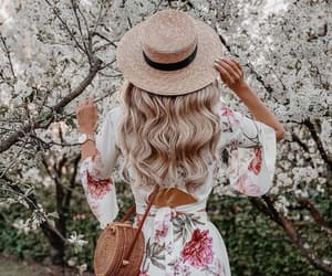 beauty, blonde, and bloom image