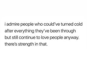 quotes, cold hearted, and strength image