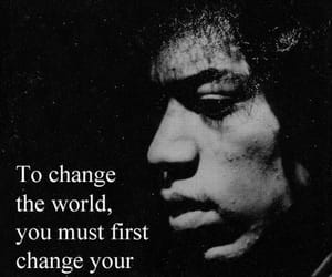 Jimi Hendrix and quotes image