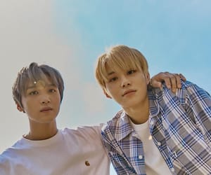 jungwoo, nct 127, and haechan image