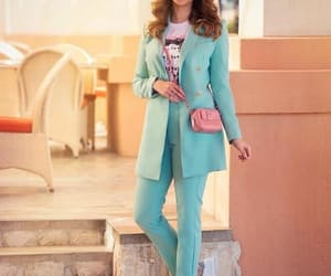 summer suit and one color suits image