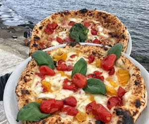 food, italy, and Naples image