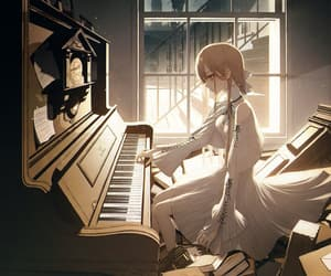 aesthetic, artwork, and instrument image