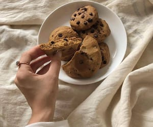 aesthetic, chocolate, and Cookies image