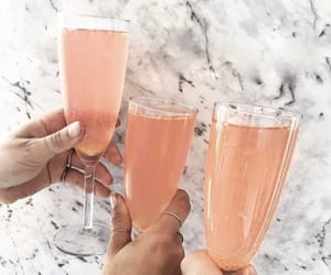 drink, champagne, and cocktail image