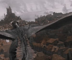 gif, king's landing, and game of thrones image