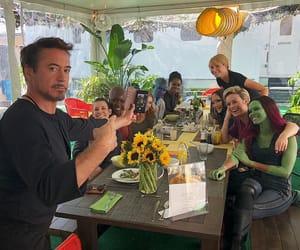 Marvel, Avengers, and robert downey jr image