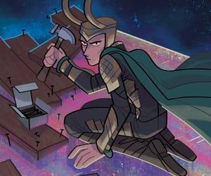 Avengers, meme, and loki laufeyson image