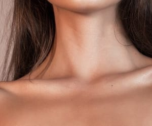collarbone, girl, and pretty image