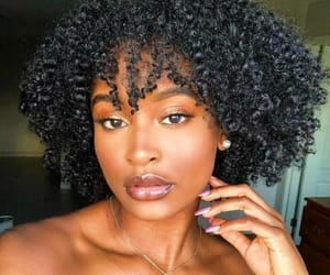 brown, curlz, and coily image