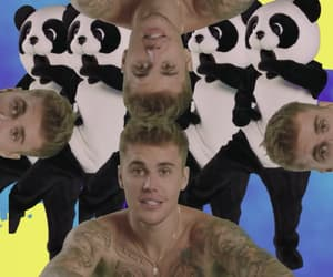 hair, music video, and justin bieber image