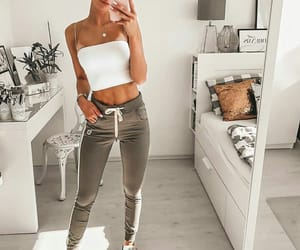 girls, look, and outfit image