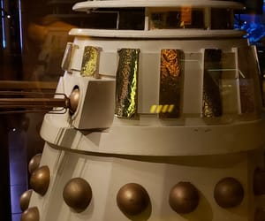 Dalek, dr who, and display image