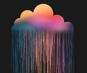 background, black, and colourful image
