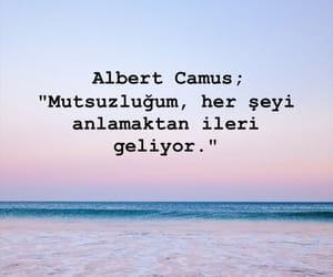 albert camus, alıntı, and türkçe sözler image