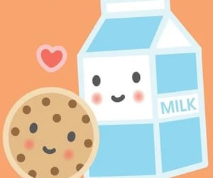 milk, love, and wallpaper image