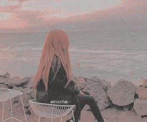 beach, beauty, and edit image