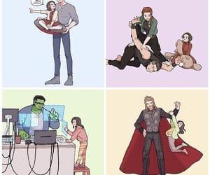 Avengers, fanart, and Marvel image