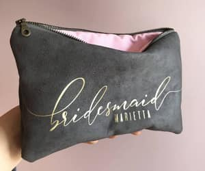bags, wedding gifts, and bridemaids image