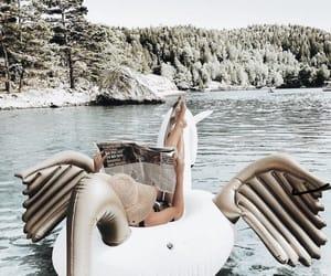 fashion, floaty, and magazine image