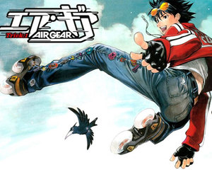 air gear, anime, and ikki image
