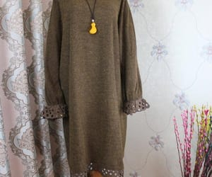 etsy, knit dress, and maxi dress image