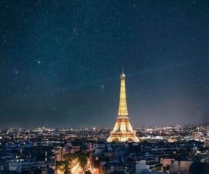 city, paris, and travel image
