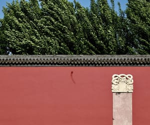 architecture, red, and china image