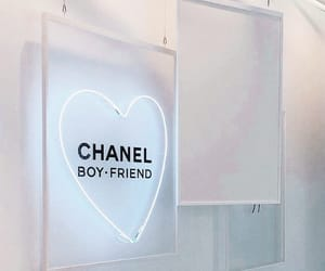 chanel, aesthetic, and neon image