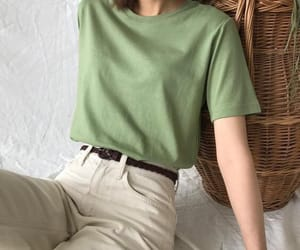 aesthetic, fashion, and green image