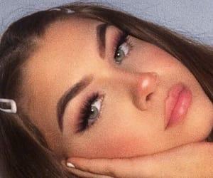 makeup, girl, and beauty image