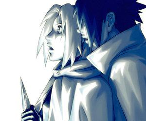 sakura, sasusaku, and sasuke image