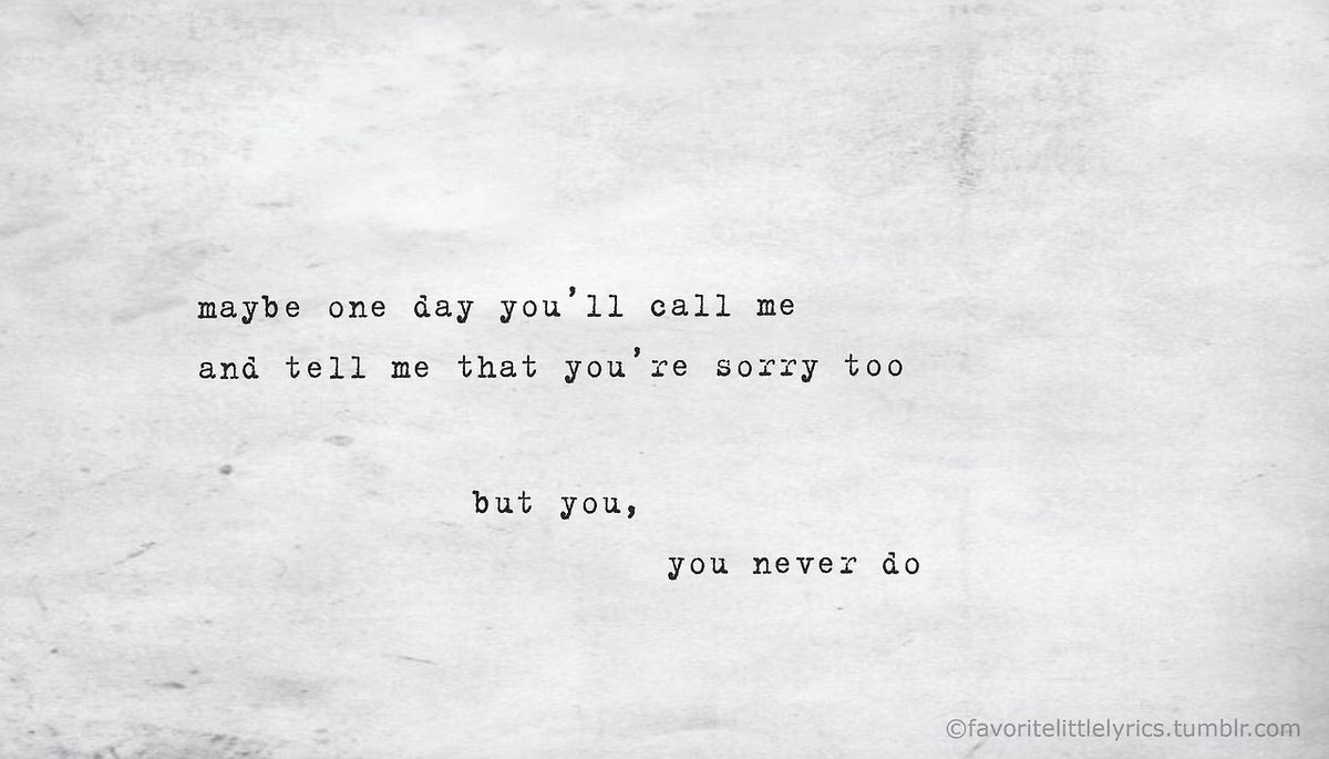 Image About Quotes In Songs By Blue On We Heart It