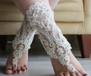 accessory, weddings, and bridal shoes image