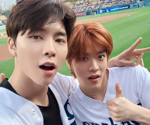 nct 127, yuta, and johnny image