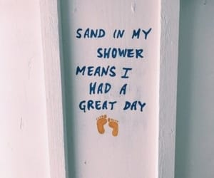 summer, quotes, and sand image