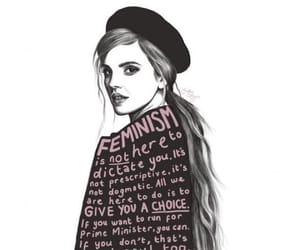feminism, emma watson, and woman image
