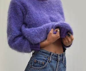 fashion, style, and purple image