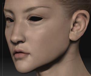 art, creepy, and digital art image