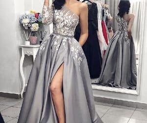 fashion, dress, and Prom image