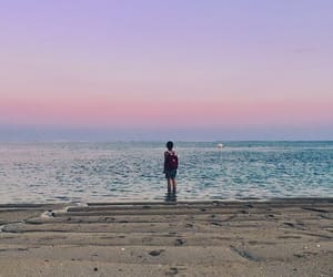aesthetic, bali, and sunsets image