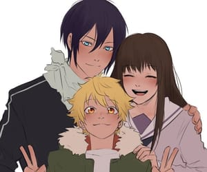 anime, family, and smiles image