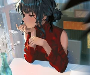 anime, art, and girl image