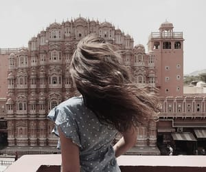 fashion, hair, and jaipur image