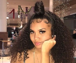 curls, hair, and edges image
